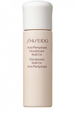 Шариковый дезодорант-антиперспирант Shiseido. Цвет: бесцветный