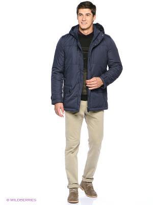 Куртка Finn Flare. Цвет: темно-синий