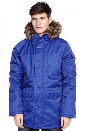 Куртка парка  Oxford Parka Navy Today. Цвет: синий
