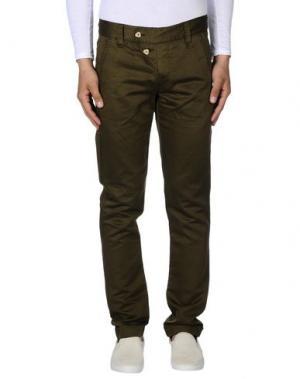 Повседневные брюки MARITHÉ + FRANÇOIS GIRBAUD. Цвет: зеленый-милитари