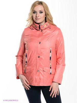 Куртка VIZANI. Цвет: коралловый