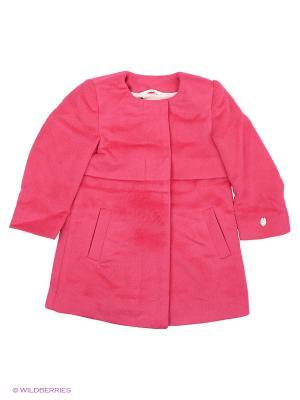 Пальто Gulliver. Цвет: розовый