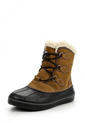 Ботинки Crocs. Цвет: коричневый