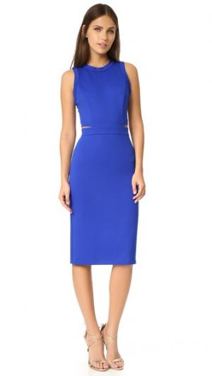 Платье Shaina Amanda Uprichard. Цвет: голубой