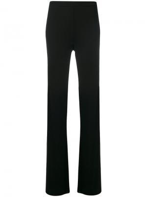 Расклешенные брюки Emilio Pucci. Цвет: чёрный