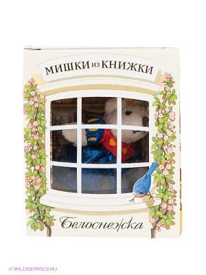 Набор Белоснежка Мишки из книжки. Цвет: светло-желтый