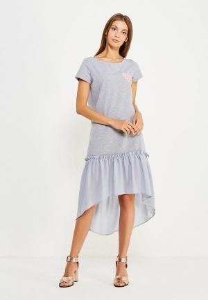 Платье Fashion.Love.Story. Цвет: серый