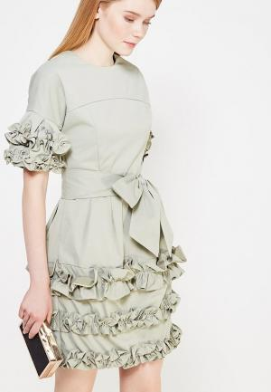 Платье Mazal. Цвет: хаки