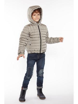 Куртка Sartis. Цвет: серый