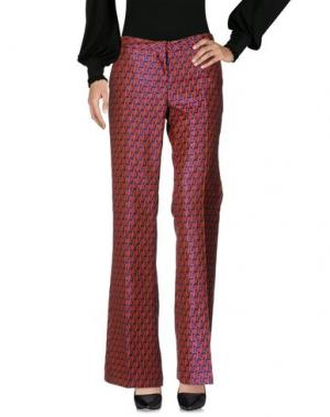 Повседневные брюки GIULIETTE BROWN. Цвет: коралловый