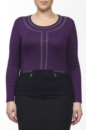 Блузка Elisa Fanti. Цвет: фиолетовый