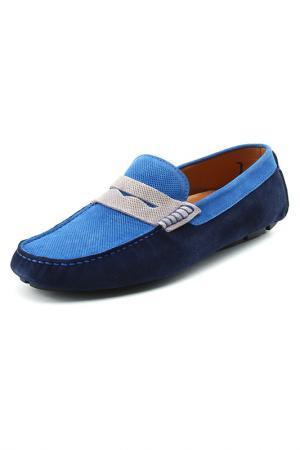 Мокасины Doucals Doucal's. Цвет: синий с серым