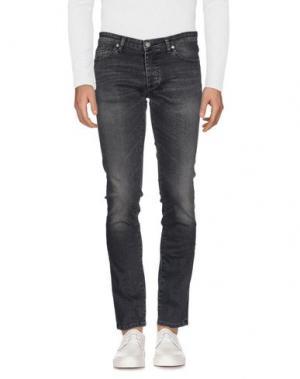 Джинсовые брюки INDIVIDUAL. Цвет: свинцово-серый