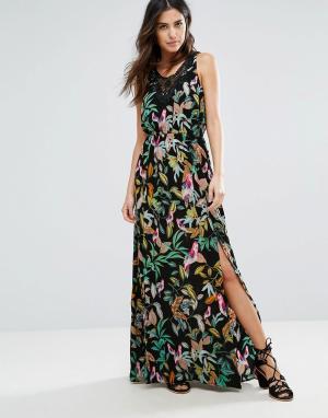 Louche Платье макси Latonia. Цвет: черный