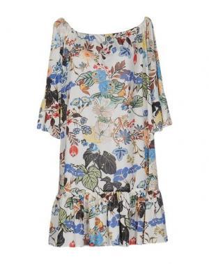 Короткое платье HANITA. Цвет: слоновая кость