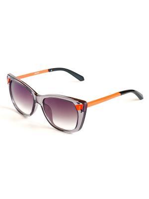 Солнцезащитные очки Selena. Цвет: серый, оранжевый, черный