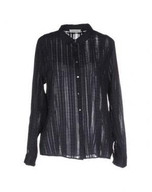 Pубашка BELLA JONES. Цвет: темно-синий