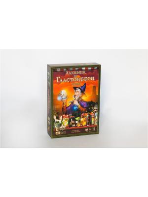Настольная игра Алхимик из Гластонбери Cosmodrome Games. Цвет: темно-фиолетовый, рыжий