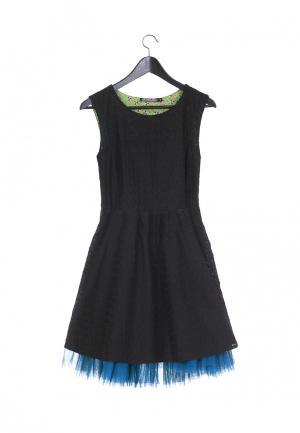 Платье Artwizard. Цвет: черный