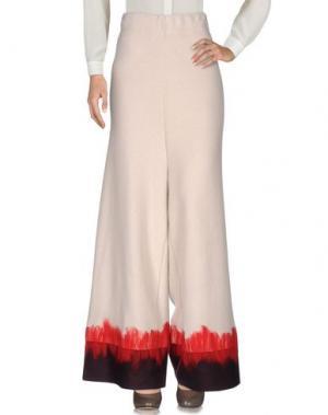 Повседневные брюки EYS. Цвет: бежевый