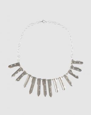 Ожерелье CARMINA CAMPUS. Цвет: серебристый