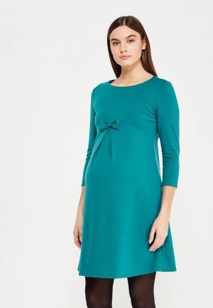 Платье Hunny mammy. Цвет: бирюзовый