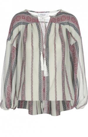 Блуза 10 Crosby Derek Lam. Цвет: разноцветный