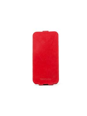 Чехол Versado Флипкейс Iphone 5C. Цвет: красный