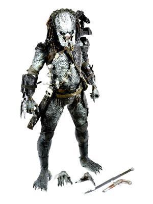 Фигурка Predators 2 - 1/4 Scale Series 3 Elder Predator Neca. Цвет: черный, белый, серебристый