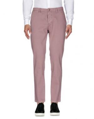 Повседневные брюки YAN SIMMON. Цвет: розовато-лиловый