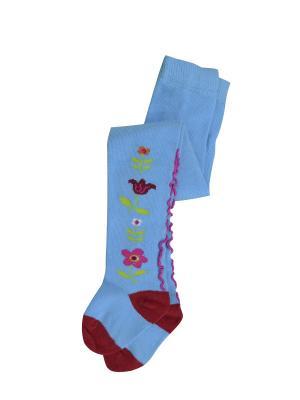 Колготки Master Socks. Цвет: голубой