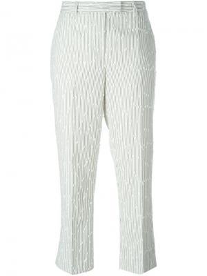 Укороченные брюки букле 3.1 Phillip Lim. Цвет: телесный