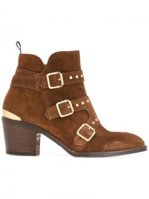 Ботинки Fat Freddy Nubikk. Цвет: коричневый