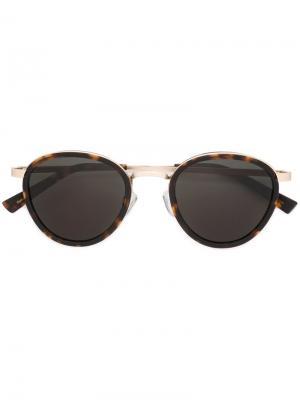 Солнцезащитные очки Poezd Epøkhe. Цвет: коричневый