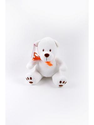 Мягкая игрушка Медвежонок для Тебя Malvina. Цвет: белый