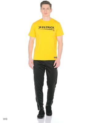 Футболка Short sleeves T-shirt Patrick. Цвет: желтый