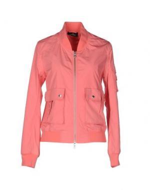 Куртка CANADIENS. Цвет: коралловый
