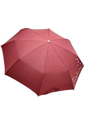 Зонт Edmins. Цвет: бордовый, белый