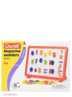 Математическая магнитная доска Quercetti. Цвет: красный, желтый, белый, синий, зеленый
