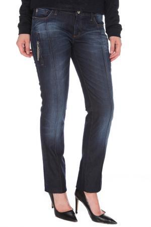 Прямые джинсы с карманами CNC Costume National C'N'C. Цвет: синий