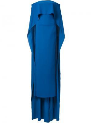 Платье Luniya Greta Constantine. Цвет: синий