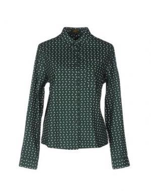 Pубашка LE MONT ST MICHEL. Цвет: изумрудно-зеленый