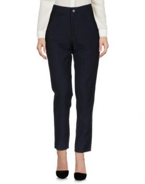 Повседневные брюки MARGAUX LONNBERG. Цвет: темно-синий