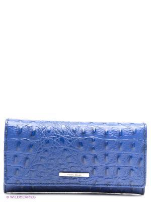 Портмоне Gianni Conti. Цвет: синий