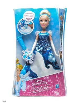 Модная кукла Принцесса в юбке с проявляющимся принтом ассорт. Disney Princess. Цвет: голубой