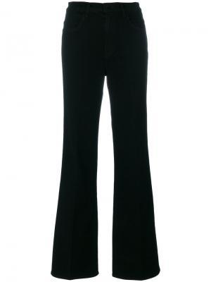 Расклешенные брюки J Brand. Цвет: чёрный