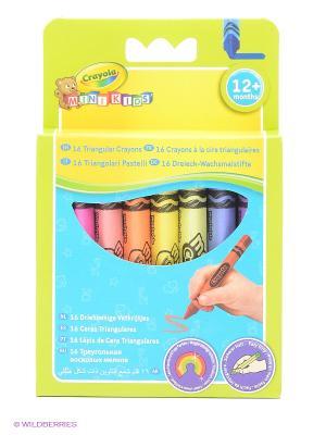 Набор восковых мелков Crayola. Цвет: салатовый