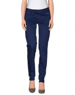 Повседневные брюки YES ZEE by ESSENZA. Цвет: пастельно-синий