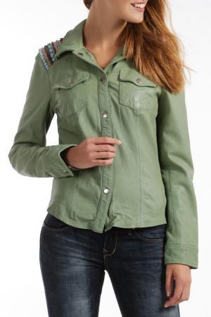 Куртка RINO & PELLE. Цвет: зеленый
