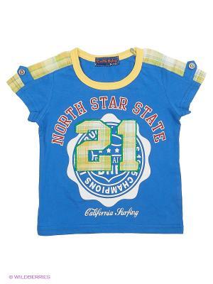 Футболка Evita Baby. Цвет: синий